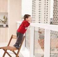protección niños mallas